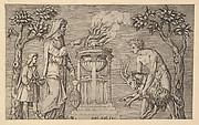 Speculum Romanae Magnificentiae: The Sacrifice of a Ram