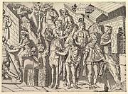 Speculum Romanae Magnificentiae: Roman Horsemen, from Trajan's Column