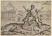 Speculum Romanae Magnificentiae: Ancient bas-reliefs with Laocoon