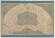 Design for the Decoration of a Lunette with a Large Central Cartouche