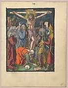 Crucifixion, from the Small Woodcut Passion