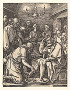 Christ Washing the Disciples Feet,  from The Small Passion