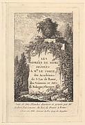 """Title, """"Les Soirées de Rome"""""""