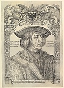 Portrait of the Emperor Maximilian I in an Architectural Frame (copy)