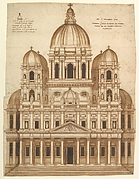 Unexecuted Design for the Façade of the Church of Santa Maria in Araceli in the city of Vicenza