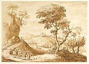 Landscape with a Town in the Distance