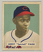 "Leroy ""Satchell"" Paige, Pitcher, Celeveland Indians, from a series of 240 (no. 224)"