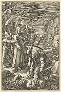 The Arrest of Christ, from The Passion of Christ (after H. Goltzius)