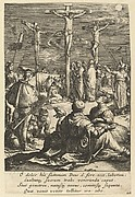The Crucifixion, from The Passion of Christ (after H. Goltzius)