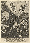The Resurrection, from The Passion of Christ (after H. Goltzius)