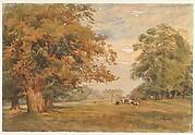 View of Kirtlington Park, Oxfordshire