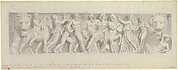 Design for a Frieze, after a Roman Sarcophagus