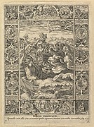 Punitio Malorum, from Allegories of the Christian Faith, from Christian and Profane Allegories