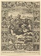 Punitio Tirannorum, from Allegories of the Christian Faith, from Christian and Profane Allegories