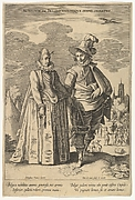 Nobilium in Belgio Utriusque Sexus Ornatus, from Fashions of Different Nations