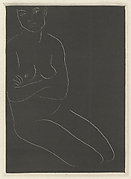 Seated Nude with Arms Crossed