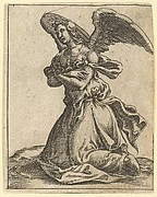The Virgin of Sorrows: Angel
