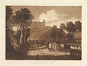 St. Catharine's Hill near Guilford (Liber Studiorum, part VII)