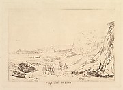 Martello Towers near Bexhill, Sussex, from Liber Studiorum, part VII