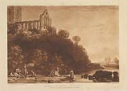 Dumblain Abbey, Scotland, from Liber Studiorum, part XI