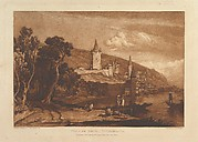Ville de Thun, Switzerland (Liber Studiorum, part XII, plate 59)
