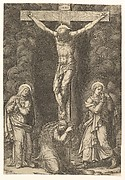 The Crucifixion with the Virgin, the Magdalen, and St. John