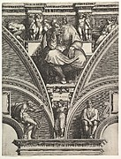 The Prophet Jeremiah, from the series of Prophets and Sibyls in the Sistine Chapel
