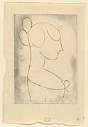 Female Head (Profile Bust of a Girl)