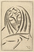 Female Head, Draped (Draped Woman's Head)