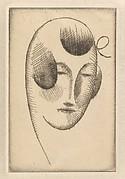 Female Head (Woman's Head with Ribbon)