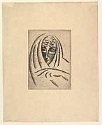 Female Head, Draped (Woman's Head in Shawl)