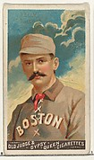 King Kelly, Catcher, Boston, from the Goodwin Champion series for Old Judge and Gypsy Queen Cigarettes