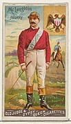 McLaughlin, Jockey, from the Goodwin Champion series for Old Judge and Gypsy Queen Cigarettes