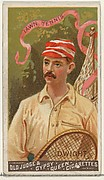 Dwight, Lawn Tennis, from the Goodwin Champion series for Old Judge and Gypsy Queen Cigarettes