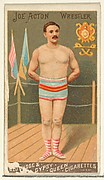 Joe Acton, Wrestler, from the Goodwin Champion series for Old Judge and Gypsy Queen Cigarettes