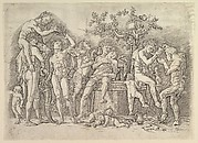 Bacchanal with Wine Vat