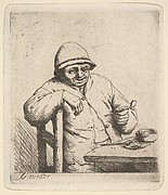 Peasant with a Pipe