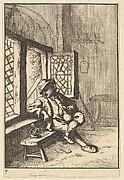 Man Sitting by a Window (copy)