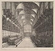 Windsor Castle, St. George's Chapel, Choir