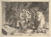 Holy Family (Repos pendant la fuite en Égypte)