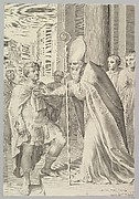 St. Ambrose, Archbishop of Milan, Turning Back Emperor Theodosius