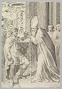St. Ambrose, Archbishop of Milan, Turning Back Emperor Theodosius