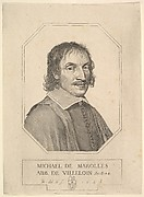 Portrait of Michel de Marolles