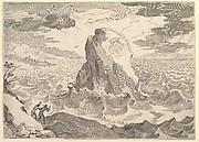 Allegory Against the Pelagian Heresy (Allégorie contre l'hérésie pélagienne et  armoiries de la duchesse d'Aiguillon)