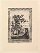 Max Klinger's Radierungen zu Apulejus' Märchen Amor und Psyche, Opus V a+b