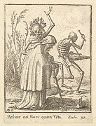 Old Woman, from the Dance of Death