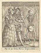 Bridal Pair, from the Dance of Death