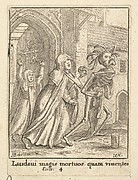Abbess, from the Dance of Death