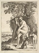 Seated Huntress, after Avont