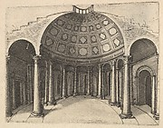 Cross-Section of Santa Costanza in Rome from the series Ruinarum variarum fabricarum delineationes pictoribus caeterisque id genus artificibus multum utiles